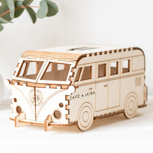 Camper Van : Personalised Solar Nightlight - gifts for children