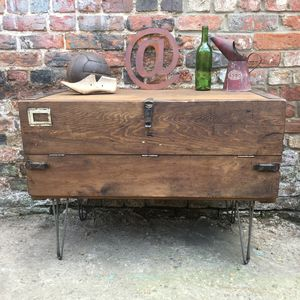 Upcycled Vintage Wooden Truck Sideboard Tv Stand - furniture