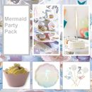 Mermaids Party Tableware Pack