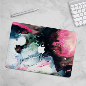 Comet Marble Vinyl Skin For Macbook