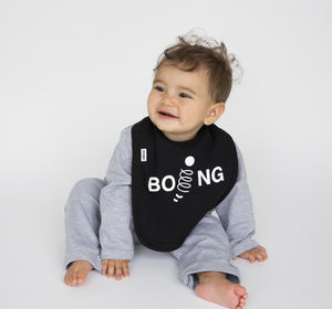 Boing Cotton Bib