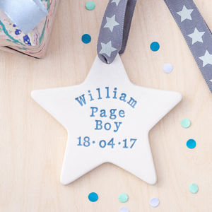 Page Boy Gift - wedding favours