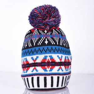 Cormack 'Burster' Merino Wool Beanie Hat - hats & gloves