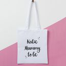 Future Mummy To Be Tote Bag