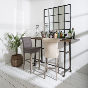 St James Padded Bar Stool - stools