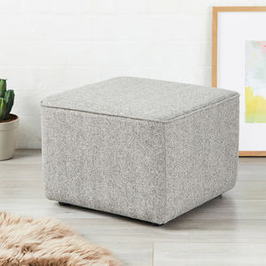 Bakerloo Short Piped Footstool - brand new sellers