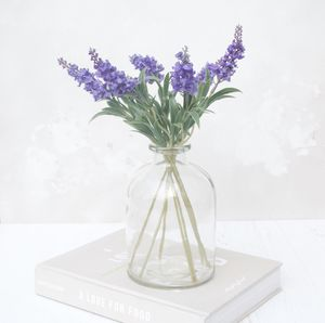 Lavender In Bell Vase - home accessories
