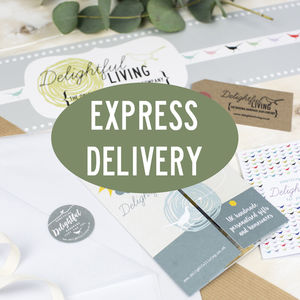Express Delivery Postage Upgrade