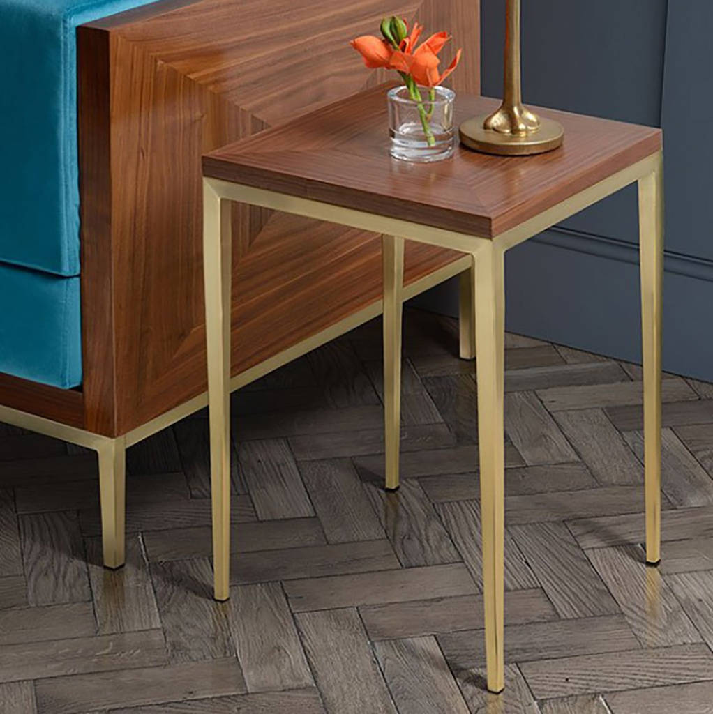1950s luxe side table by i love retro notonthehighstreet com rh notonthehighstreet com