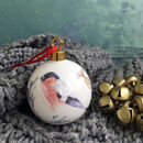 Bullfinch Bone China Christmas Bauble