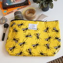 Fly Du Soleil Bright Yellow Insect Wash Bag