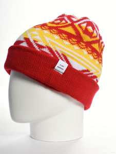 Cormack 'Nava Say Nava' Turnup Merino Wool Beanie Hat - hats, scarves & gloves