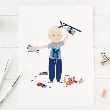 Personalised Children's Portrait
