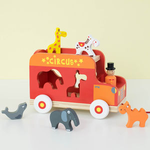 Circus Truck Shape Sorter - toys & games