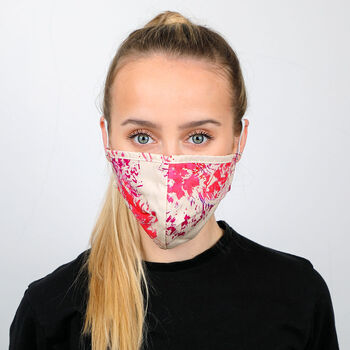 Face Mask In Multicoloured Cotton