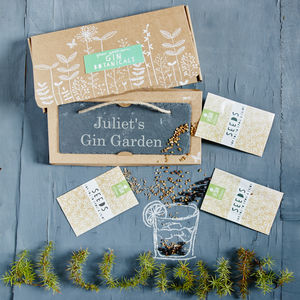 Grow Your Own Gin Botanicals Garden - personalised gifts