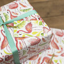 Flamingo Tropical Wrapping Paper Set