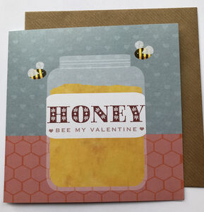 My Honey Valentine Card