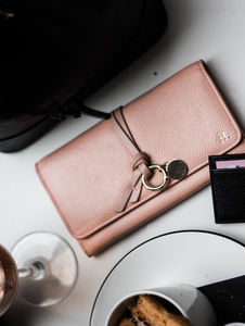 Personalised Pebbled Leather Wallet