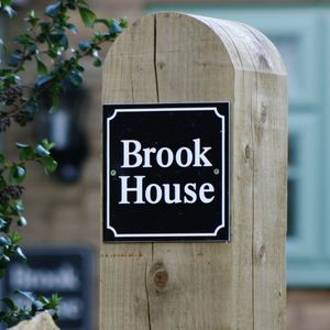 Personalised Classic House Signs - art & decorations