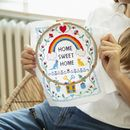 Home Sweet Home Cross Stitch Kit By Wool And The Gang