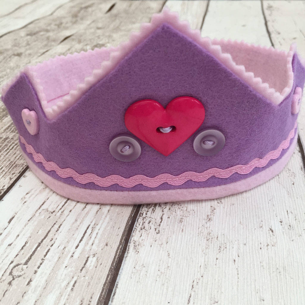 Valentines Heart Crown