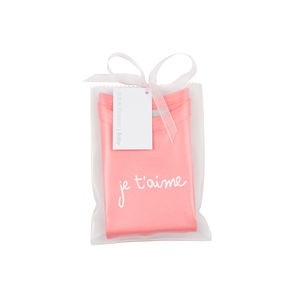 Flamingo Pink Je T'aime Baby T Shirt