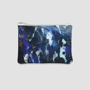 Alvida Silk And Leather Bag - womens