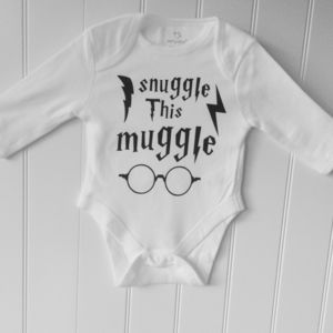 Snuggle This Muggle Baby Outfit - babygrows