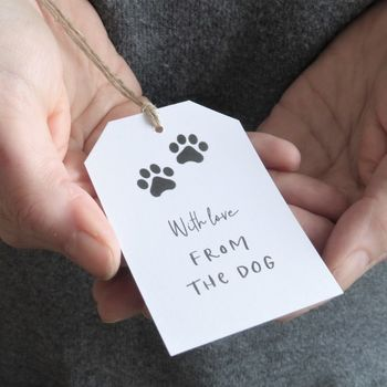 From The Dog Gift Tags