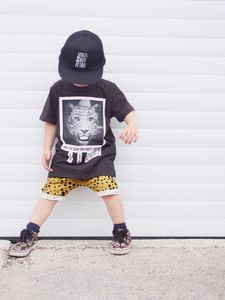 Organic Baby And Toddler Leopard Shorts - shop by recipient