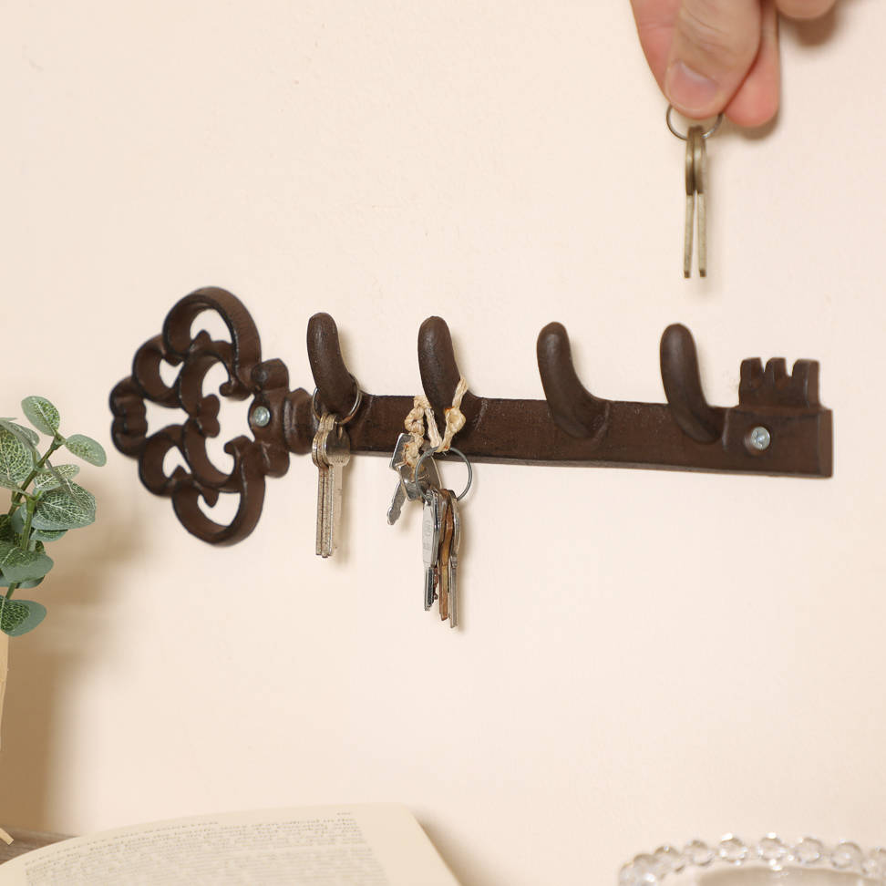 Oakleigh Vintage Key Shaped Iron Wall Hook