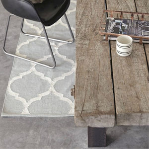 Handwoven Cotton Rug - rugs & doormats