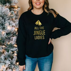 All The Jingle Ladies Christmas Jumper