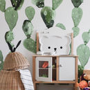 Cactus Self Adhesive Removable Wallpaper