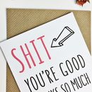 Funny Awesome Mother's Day Card