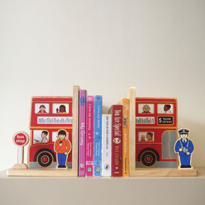Fair Trade Bus Bookend Set - brand new partners