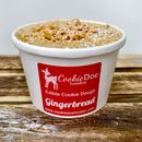 Festive Gingerbread Edible Cookie Dough Tub