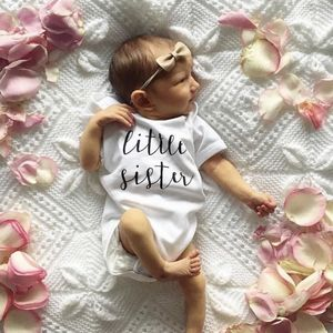 'Little Sister' Bodysuit - babygrows