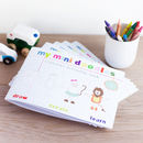 Mini Doodles Colouring Book Party Pack