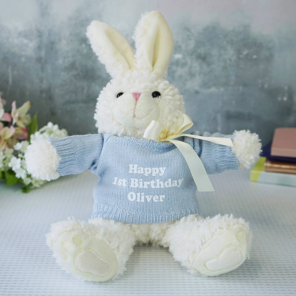 Personalised bunny rabbit gift by sparks living personalised bunny rabbit gift negle Image collections