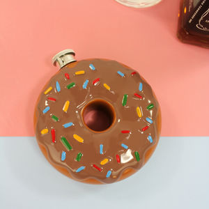 Novelty Iced Donut Hip Flask