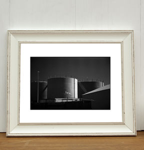 Gas Works, Lowestoft, Suffolk Photographic Art Print