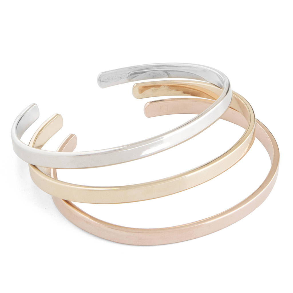 detail or open bangle silver jewellery gold bangles in rose bow equilibrium