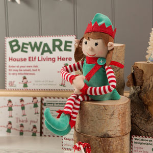 Girl Christmas Elf And Magical Reward Kit - gifts for children