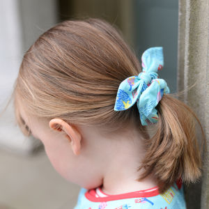 Hair Scrunchie London Print