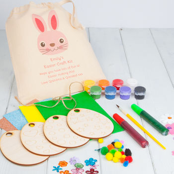 Personalised Easter Decorations Craft Kit