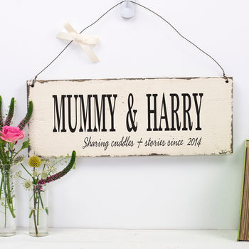 mother's day sign gift for mummy