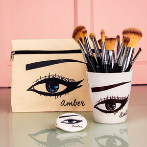 Personalised Eye Beauty Gift Set