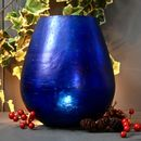Blue Glass Tealight Votive